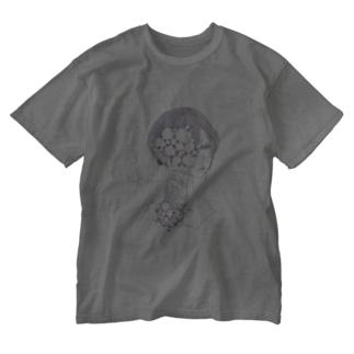 孤毒美 Washed T-shirts