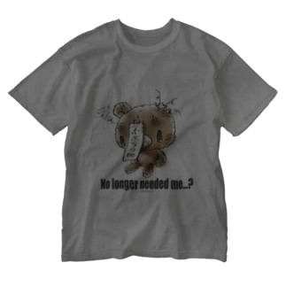 【各20点限定】クマキカイ(A) No longer needed me...? Washed T-shirts