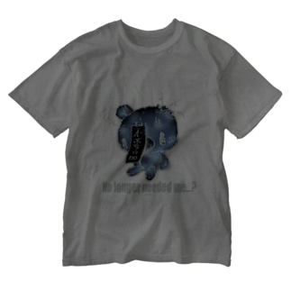 【各10点限定カラー】クマキカイ(1 / nega / No longer needed me...?) Washed T-shirts