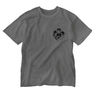 【期間限定】イノウエノリコ氏デザイン「みずすまし」グッズ Washed T-shirts