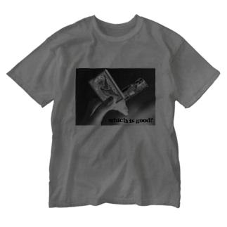 古春一生(Koharu Issey)のマッチ派?ライター派?(4) Washed T-shirts