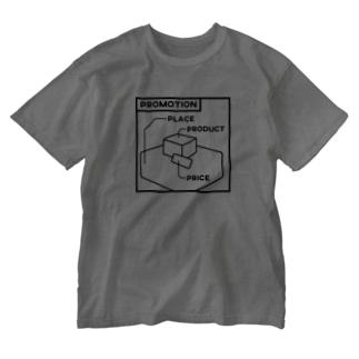 マーケティングにおける実行施策(4P) Washed T-shirts