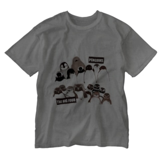 PENGUINS THE BIG FOUR LIVE! Washed T-shirts