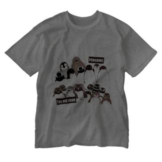 PENGUINS THE BIG FOUR LIVE! Washed T-Shirt