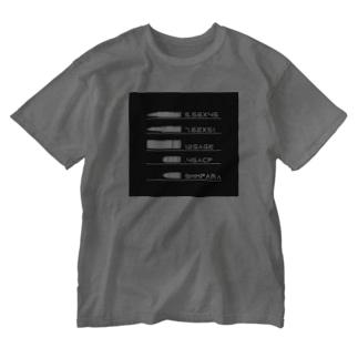 AMMO COLE Washed T-shirts