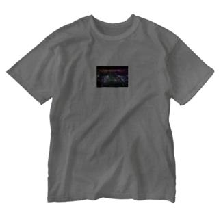 ミラーボールTシャツ Washed T-shirts