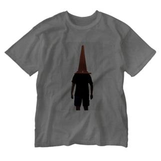 KurumiTamuraのパイロン人間2 Washed T-shirts