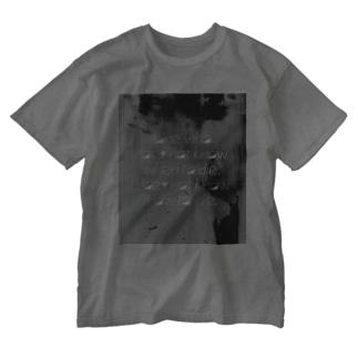M.Miraのbyラスキン Washed T-shirts