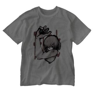 指の間に Washed T-shirts