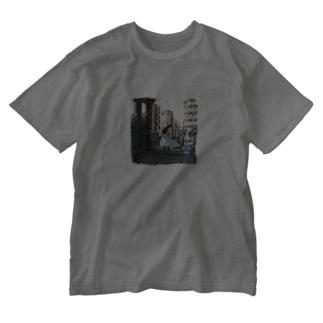 淡彩色のワンダーランド Washed T-shirts