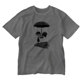 いっそ、苔むした喜びを Washed T-shirts