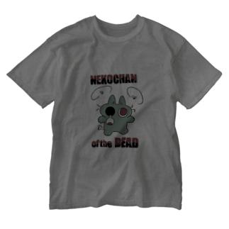 ゾンビネコちゃん Washed T-shirts
