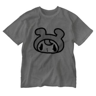 ドンナコ・ショップ SUZURI出張店のきぐるみくんTシャツ Washed T-shirts