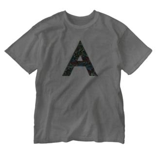 【A】えぇ夏 Washed T-shirts