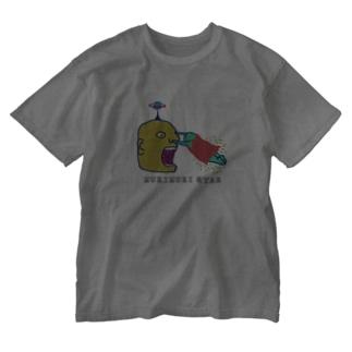 いんりょく!(むきむき星より) Washed T-shirts