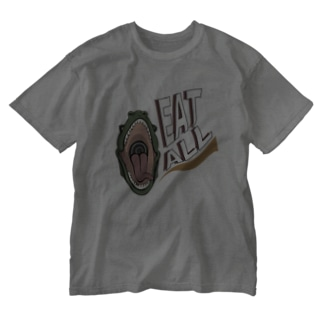 EATALL DINO Washed T-shirts