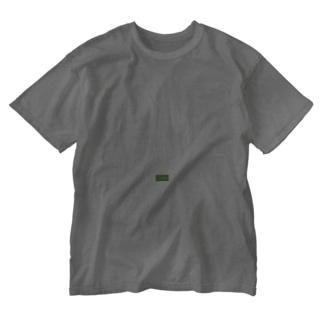 Qiitan (白) Washed T-shirts