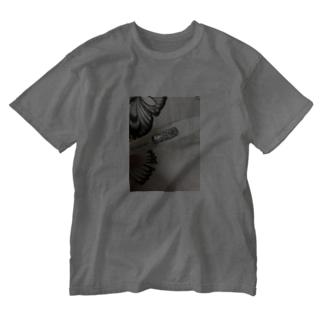 38.4ぶ Washed T-shirts
