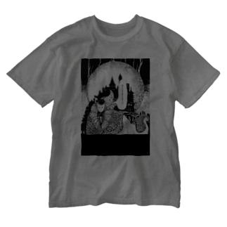 逢魔時 Washed T-shirts