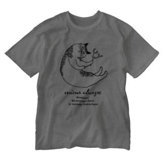minachape STOREのmina chapeロゴT Washed T-shirts