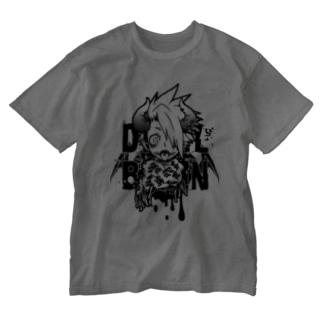 DEVILBRAIN Washed T-shirts