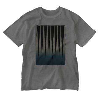 ニホントカゲの幼体 Washed T-shirts