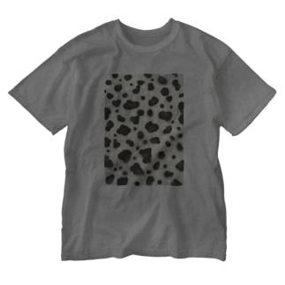 ヒョウモントカゲモドキ Washed T-shirts