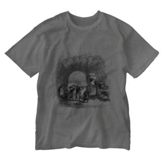 J・J・グランヴィル『動物たちの私生活・公生活情景』 Washed T-shirts