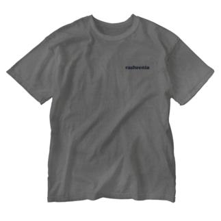 rasheenia背面ロゴ Washed T-Shirt