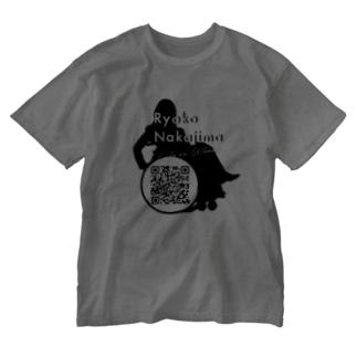 Logo w/ QR code Washed T-shirts