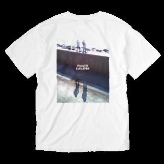 Kitarouのサマーバケーション Washed T-shirts