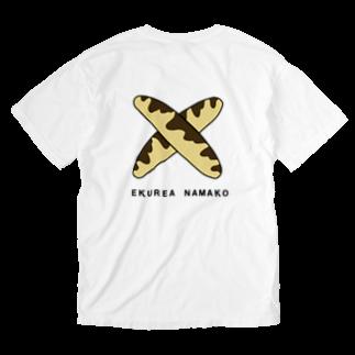 ✳︎トトフィム✳︎のエクレアナマコ Washed T-shirts