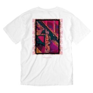 錆びて剥がれて灼熱 ~ ワイン Washed T-shirts