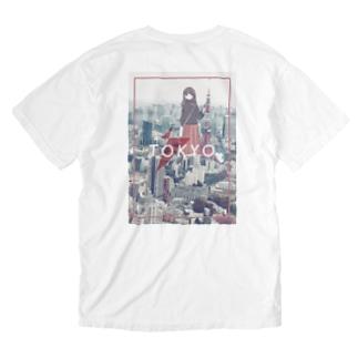 Hello Tokyo Washed T-shirts