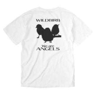 東京すずめグッズ Washed T-shirts