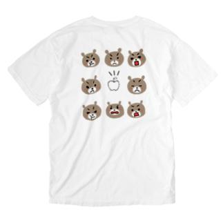 おこりんぼう。 Washed T-shirts