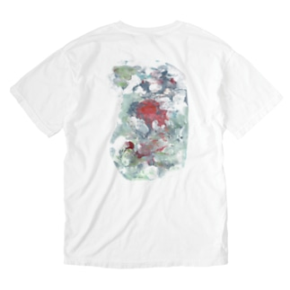 (front)ひと(back)いろ Washed T-shirts