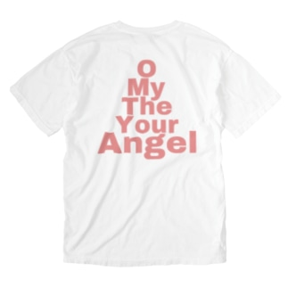 エンジェル Washed T-shirts