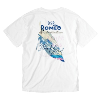 Blue Bird  Feather Washed T-shirts