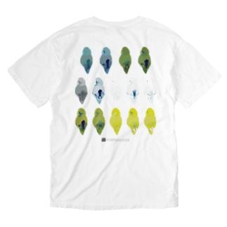マメルリハの後ろ姿 Washed T-shirts