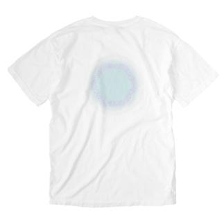 Lahanyの弥勒の世 Washed T-shirts