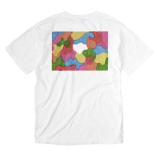 コロナ未来 Washed T-shirts