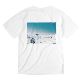 美ヶ原 Washed T-shirts