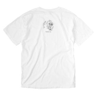 ライオン Washed T-shirts