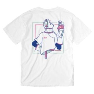 休日 Washed T-shirts