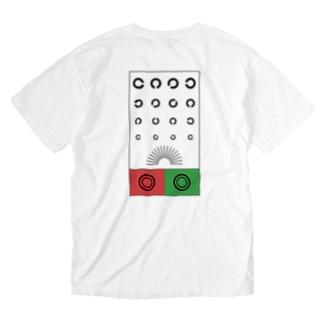 右・左下・下・上・・・?(表裏Ver.) Washed T-shirts