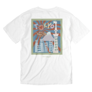 The city of Tokyo  Washed T-shirts