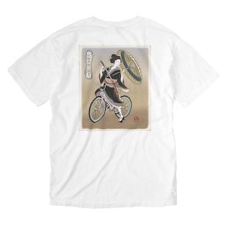 """""""双輪車娘之圖會"""" 5-#2 Washed T-Shirt"""