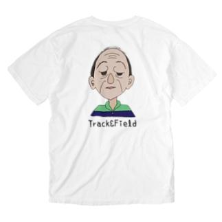 おじモン Washed T-shirts