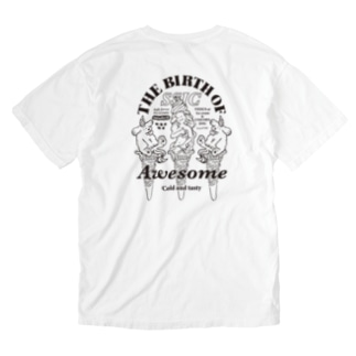 THE BIRTH OF SSIC mono ver. Washed T-shirts